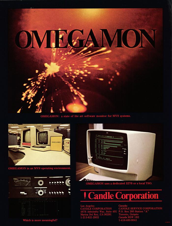 First CandleOmegamon Flyer By Aubrey Chernick
