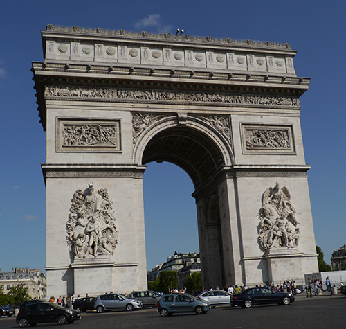 Arc De Triomphe - Full Height