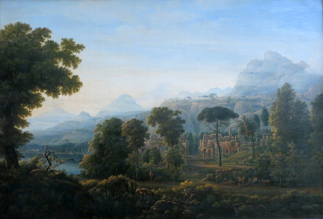 View Over Tivoli Close To Rome - Matveev, Fedor Mikhailovich