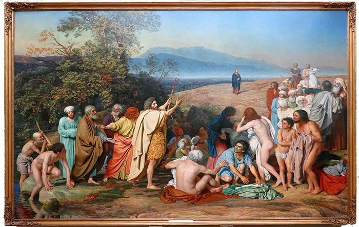 The Apparition Of Christ To The People 1837 - 1857 Aleksander Ivanov