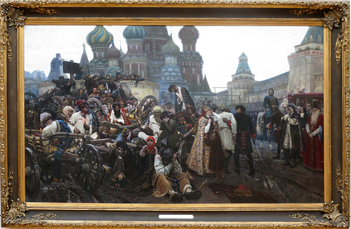 Morning Of The Execution Of The Streltsy 1881- Vasily Surikov